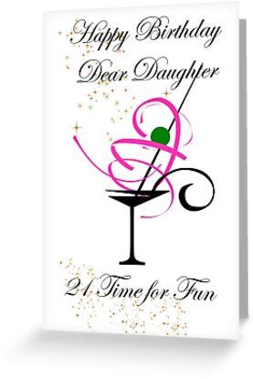Daughter 21st Birthday Card