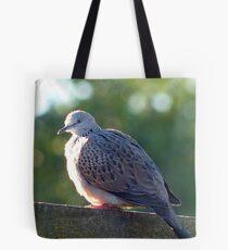 "I've Arrived At ""Tranquillity"" - Spotted Dove - NZ Tote Bag"