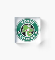 Yoshi Coffee Acrylic Block