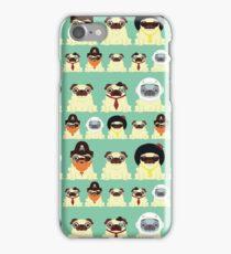 Pug pattern iPhone Case/Skin