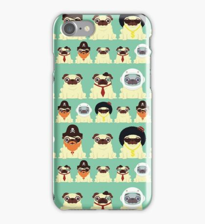 Pug pattern iPhone Case/Skin