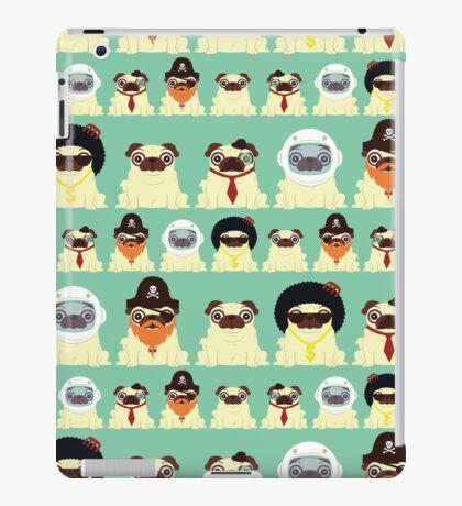 Pug pattern iPad Case/Skin