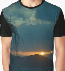 Sunset Naxos 1 Graphic T-Shirt