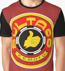 Vintage Bultaco Motorcycle Co. Spain Graphic T-Shirt