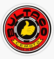 Vintage Bultaco Motorcycle Co Sticker