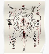 Necronomicon page Evil Dead Poster