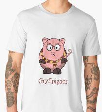 Piggy Cerdo Cerdito Gryffindor Harry Potter Nerd Men's Premium T-Shirt