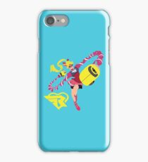 RIBBON GIRL - ARMS iPhone Case/Skin