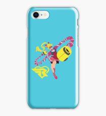 RIBBON GIRL - ARMS iPhone Case/Skin