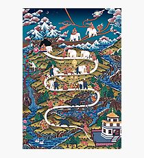 Taming The Elephant Mind Diagram Photographic Print