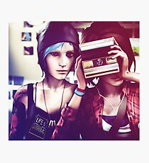 Chloe & Max - Life is Strange Photographic Print