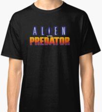 Alien Vs Predator - Title Screen Classic T-Shirt