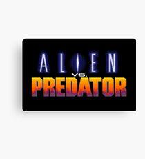 Alien Vs Predator - Title Screen Canvas Print