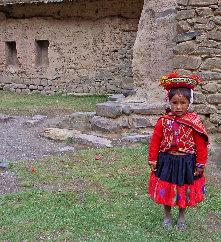 Quechua girl by Elaine Stevenson