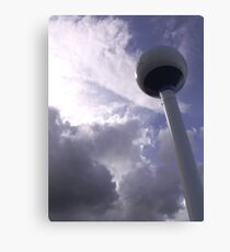 Storm over Water Tower Canvas Print