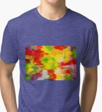 Camo Groovy Tri-blend T-Shirt
