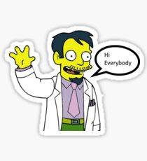 Dr Nick from The Simpsons Sticker