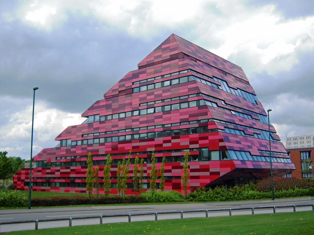 Yang Fujia Building, Nottingham University by Graham Geldard