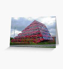 Yang Fujia Building, Nottingham University Greeting Card
