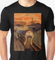 Rick and Morty The Scream Unisex T-Shirt