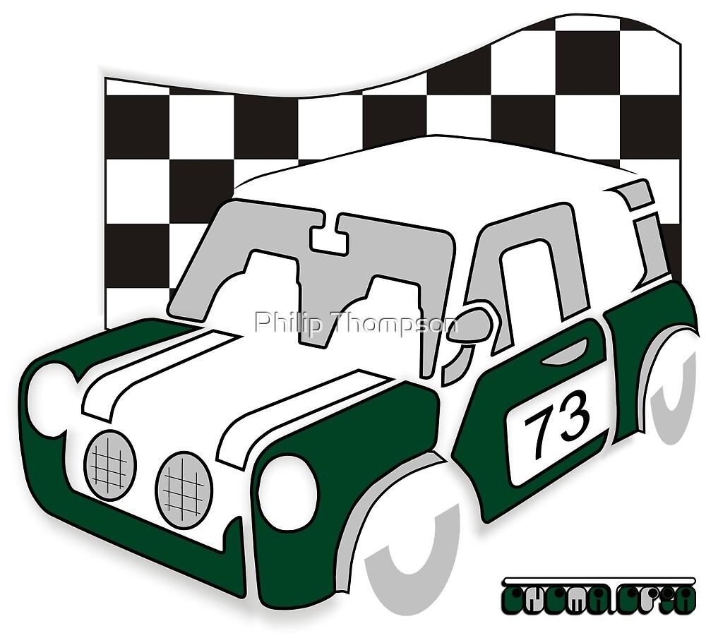 Rally Car BRG by Philip Thompson