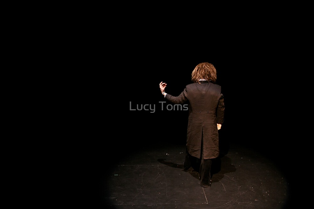 Tim 'Back' Stage by Lucy Johnston