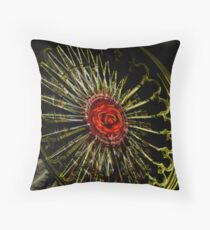Rosewheel Throw Pillow