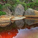 0162 Tidal River boulders by Hans Kawitzki