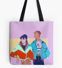 80s Voltron : Klance Tote Bag