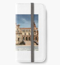 Plaza de Espana, Seville  iPhone Wallet/Case/Skin
