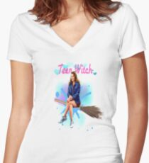 Teen Witch Women's Fitted V-Neck T-Shirt