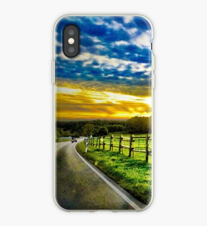 Fantasy Road iPhone Case