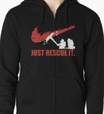 just rescue it fire fight t-shirts Zipped Hoodie