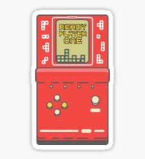 Ready player one Tetris game Sticker