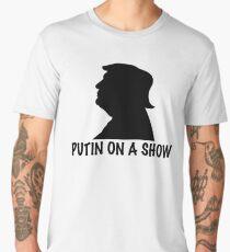Putin on a Show Pun Dump Trump T-Shirt Men's Premium T-Shirt