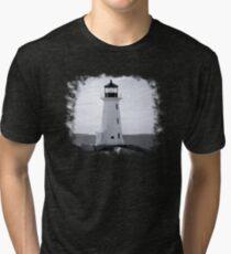 Peggy's Cove Lighthouse Tee Tri-blend T-Shirt