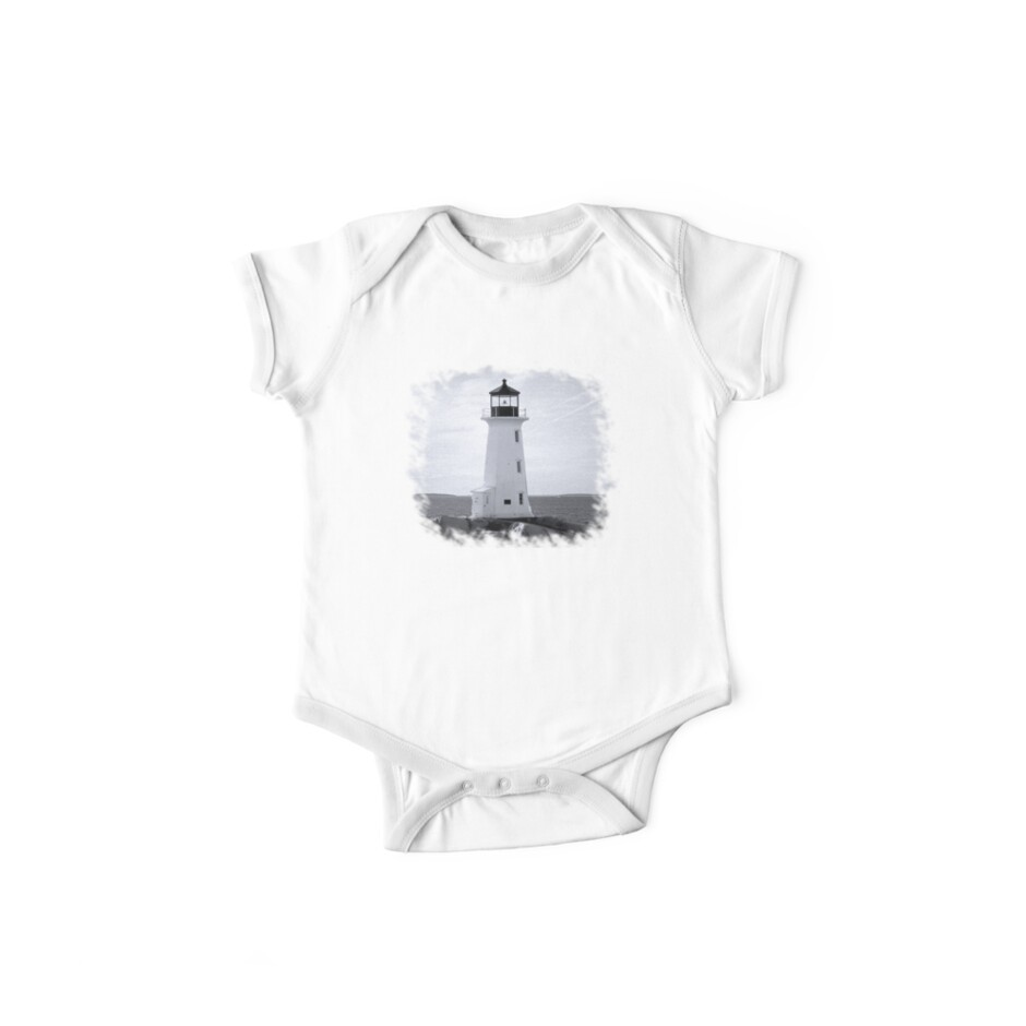 Peggy's Cove Lighthouse Tee by Scott Ruhs