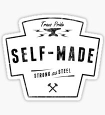 Self-Made Trans* Apparel Sticker
