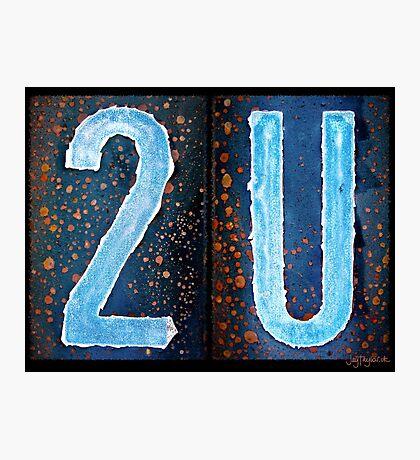 2U Photographic Print