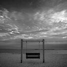 Swing Bench - Bens Point   Orient, New York by © Sophie W. Smith