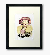 Barbie Glamour Framed Print