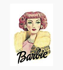 Barbie Glamour Photographic Print