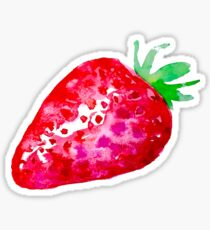 Sweet as strawberries Sticker