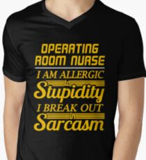 OPERATING ROOM NURSE Men's V-Neck T-Shirt