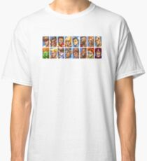 Super Street Fighter II - Avatars Classic T-Shirt