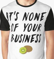 HS1 - Styles Album Kiwi Lyric Design Graphic T-Shirt