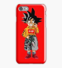goku sup kids iPhone Case/Skin