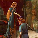 The Knighting by chubbyunicorn