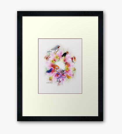 Joyful Morning at the Seashore Framed Print