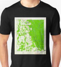 USGS TOPO Map Florida FL Wewahitchka 349089 1945 24000 Unisex T-Shirt